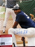 "DAVE WINFIELD SIGNED 8"" x 10"" PHOTO w/CAS COA"