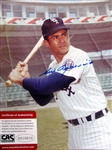 "LUIS APARICIO SIGNED 8"" x 10"" PHOTO w/CAS COA"