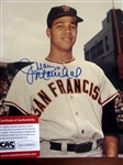 "JUAN MARICHAL SIGNED 8"" x 10"" PHOTO w/CAS COA"