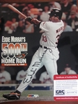 "EDDIE MURRAY SIGNED 8"" x 10"" PHOTO w/CAS COA - 500th HOME RUN"