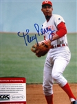 "TONY PEREZ SIGNED 8"" x 10"" PHOTO w/CAS COA"