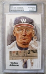 WALTER JOHNSON SIGNED CUT PSA SLABBED & AUTHENTICATED