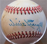WILLIE STARGELL SIGNED BASEBALL w/CAS COA