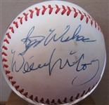 "WILLIE MCCOVEY ""BEST WISHES"" SIGNED BASEBALL w/CAS COA"