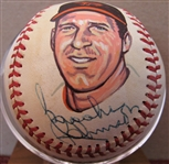 BROOKS ROBINSON SIGNED PHOTO BASEBALL w/CAS COA