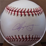 CHIPPER JONES #10 SIGNED BASEBALL w/CAS COA