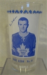 1967-68 DAVE KEON - TORONTO MAPLE LEAFS GLASS