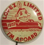 1952 CLEVELAND INDIANS PIN