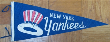 VINTAGE NEW YORK YANKEES PENNANT
