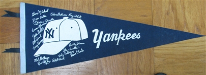 80s/90s NEW YORK YANKEES PENNANT