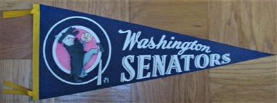 60s WASHINGTON SENATORS PENNANT