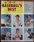1953 BASEBALLS BEST MAGAZINE w/MICKEY MANTLE COVER