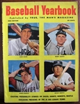 1953 BASEBALL YEARBOOK MAGAZINE w/MICKEY MANTLE COVER
