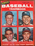 1956 TRUE BASEBALL YEARBOOK MAGAZINE w/MICKEY MANTLE COVER