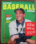 1952 OFFICIAL BASEBALL ANNUAL MAGAZINE w/ALLIE REYNOLDS COVER