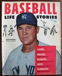 1953 BASEBALL LIFE STORIES MAGAZINE w/REYNOLDS COVER