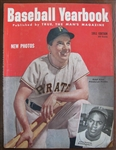 1951 BASEBALL YEARBOOK MAGAZINE w/KINER - J. ROBINSON COVER