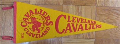 CLEVELAND CAVALIERS BASKETBALL PENNANT