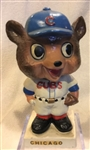 "60s CHICAGO CUBS ""WHITE BASE"" BOBBING HEAD"