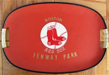 "60s BOSTON RED SOX ""FENWAY PARK"" SERVING TRAY"