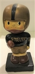 "60S PITTSBURGH STEELERS ""SQUARE BASE"" BOBBING HEAD"